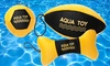 Set of 3 Floating Sports Toys for Dogs: Set of 3 Floating Sports Toys for Dogs
