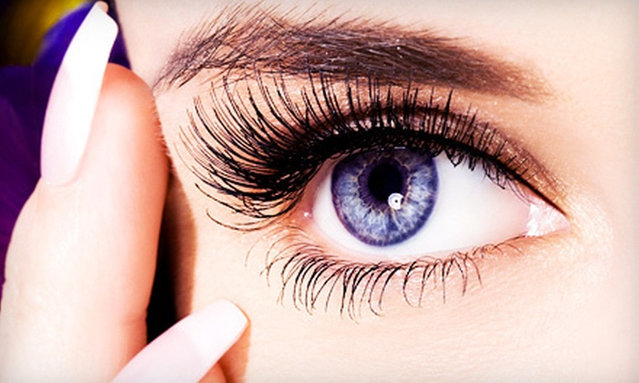 JMeganMarie - Irving: Eyelash Extensions with 45 or 60 Lashes Per Eye at JMeganMarie in Irving (Up to 62% Off)