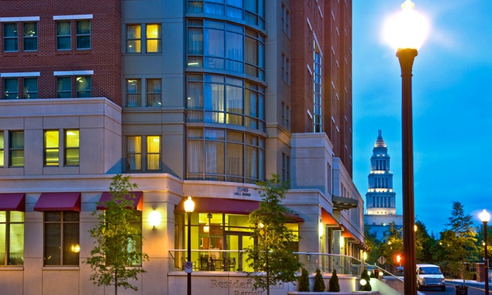 null - Washington DC: Stay with Parking at Residence Inn Alexandria Carlyle in Virginia, with Dates into January