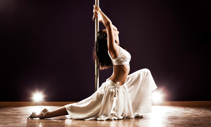 The Secret Pole Dance Studio - Multiple Locations: 6 or 9 Pole-Dancing or Fitness Classes, or a Party for Up to 15 at The Secret Pole Dance Studio (Up to 76% Off)