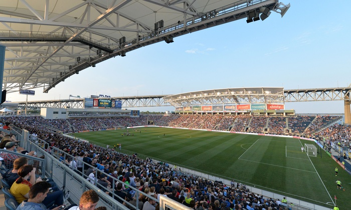 Philadelphia Union - Talen Energy Stadium: $25 for One Ticket to a Philadelphia Union Soccer Match at PPL Park on May 17 or June 3 ($45.50 Value)