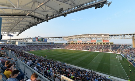 One Ticket to a Philadelphia Union Soccer Match at PPL Park on April 19 or June 3 (Up to 49% Off)