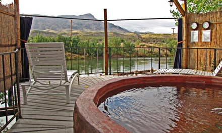 50-Minute Hot-Spring Private-Pool Soak For Two at Riverbend Hot Springs, (Up to 50% Off). Two Options Available.