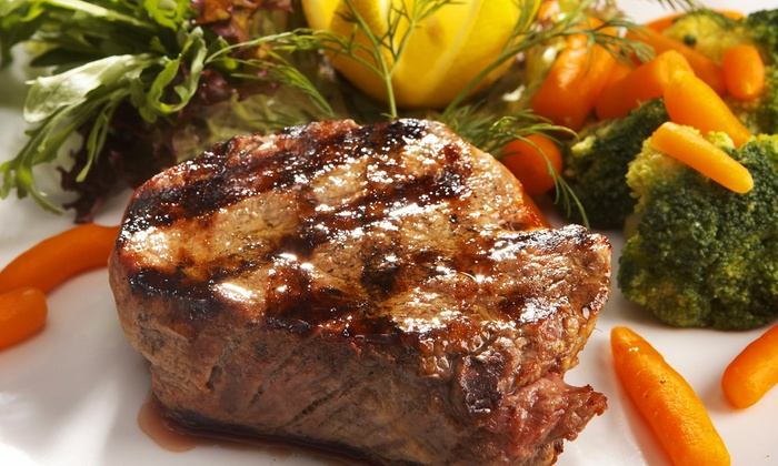Gaslight Grill - Cornerstone Of Leawood: Steak-House Cuisine for Dinner or Brunch at Gaslight Grill (Up to 35% Off). Three Options Available.