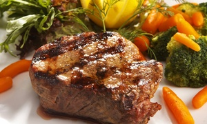 Steak-house Cuisine For Dinner Or Brunch At Gaslight Grill (up To 35% Off). Three Options Available.