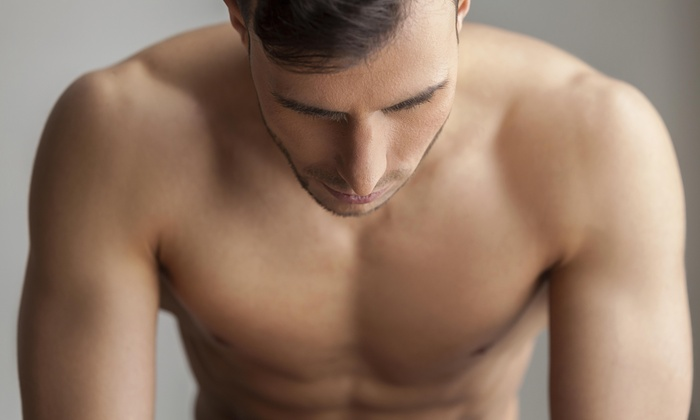 The Dolce Vita Spas - Las Vegas: Men's Back and Shoulder Wax from The Dolce Vita Spas (80% Off)