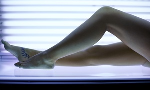 City Tan & Spa: 10 or 20 UV Sessions, or One or Three Mystic Tan Spray Tans at City Tan & Spa (Up to 59% Off)