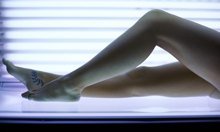 Three or Six Tanning Sessions in High Pressure UV Bed at Iron House Nutrition (Up to 61% Off)