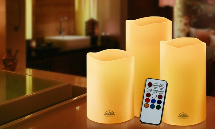 Decorative Flameless Candles: Decorative Flameless Candles with Remote