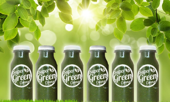 super eleven shake ltd: Three- (£54.99) or Five-Day (£69.99) Super Green Juice Cleanse Programme (Up to 78% Off)