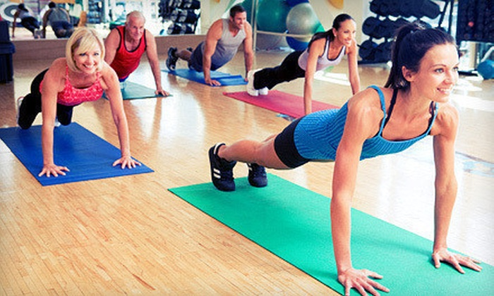 Sweat Fitness - Multiple Locations: Personal-Training Sessions with Classes or Visits at Sweat Fitness (Up to 80% Off). Two Options Available.