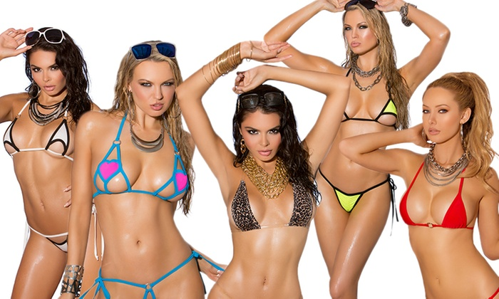 3c8665d03e Itty Bitty Bikini Collection | Groupon Goods