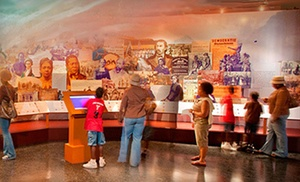 Visit For Two Or Four To African American Museum In Philadelphia (half Off)