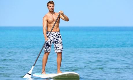 Alquiler de material de paddle surf para 1, 2 o 4 personas desde 8,90 €