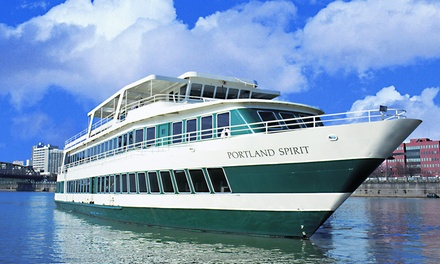 50% for a Two-Hour Friday River Cruise with Live Music from Portland Spirit Cruises ($34 Value)