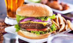 Green Parrot Pub: Two or Four Burgers with Fries and Beer, or $12 for $20 Worth of Food at Green Parrot Pub