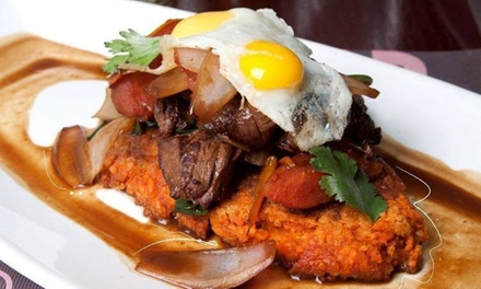 Peruvian Food and Drinks for Lunch or Dinner at Mama Irma Restaurant (Up to 40% Off)