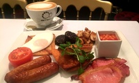 Large Breakfast with Tea or Coffee for Two at AM:PM Bohemian Restaurant (31% Off)