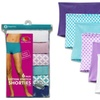 Fruit Of The Loom Women's Cotton Stretch Boyshorts (6- or 12-Pack)
