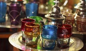 Coin De Marrakech: Menu marocchino d'asporto per pranzo o cena per 2 o 4 persone da Coin De Marrakech (sconto fino a 63%)