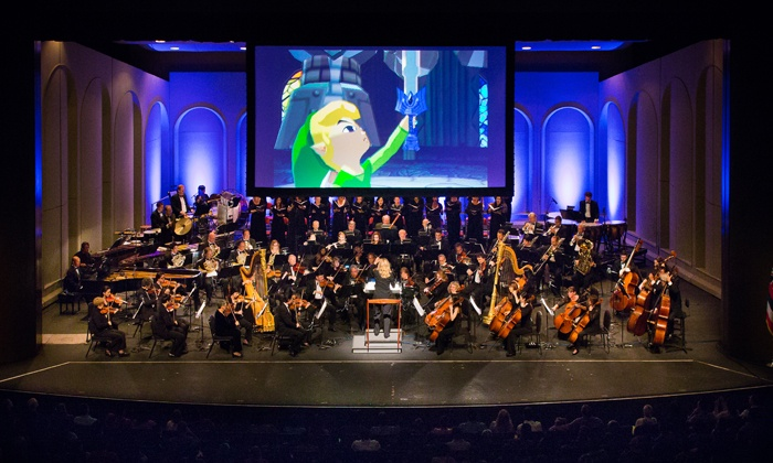 """The Legend of Zelda: Symphony of the Goddesses  - Sony Centre For The Performing Arts: """"The Legend of Zelda"""": Symphony of the Goddesses – Master Quest on Saturday, March 19, at 8 p.m."""