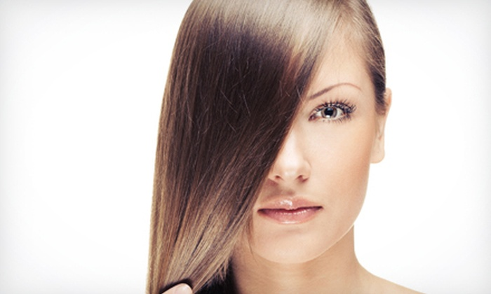 Salon 5.1.1 - West Suburb: $99 for a Keratin Complex Smoothing Treatment at Salon 5.1.1 ($350 Value)