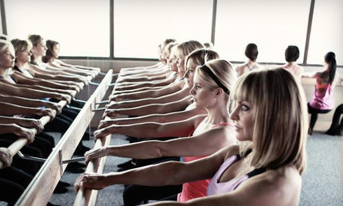 Pure Barre - Old Pasadena: Three or Six Barre-Fitness Classes at Pure Barre (Up to 64% Off)