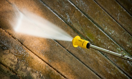 Exterior Power Wash for a 2,000-, 3,000-, or 4,000-Square-Foot Home from Cherry Valley Wood Care (Up to 68% Off)