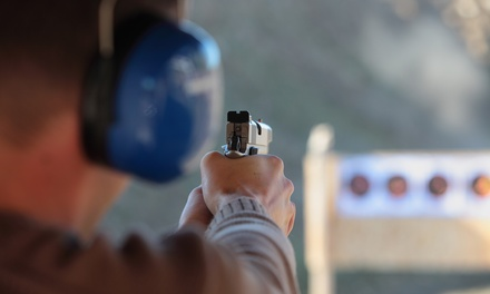 Pistol or Rifle Shooting Packages at Bob's Little Sport Shop (Up to 55% Off). Three Options Available