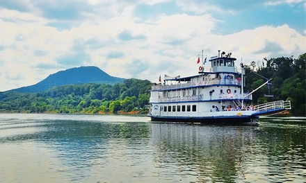 $17 for 1.5-Hour Sightseeing Cruise for 2 on the Tennessee River from Chattanooga Riverboat ($33.90 Value)