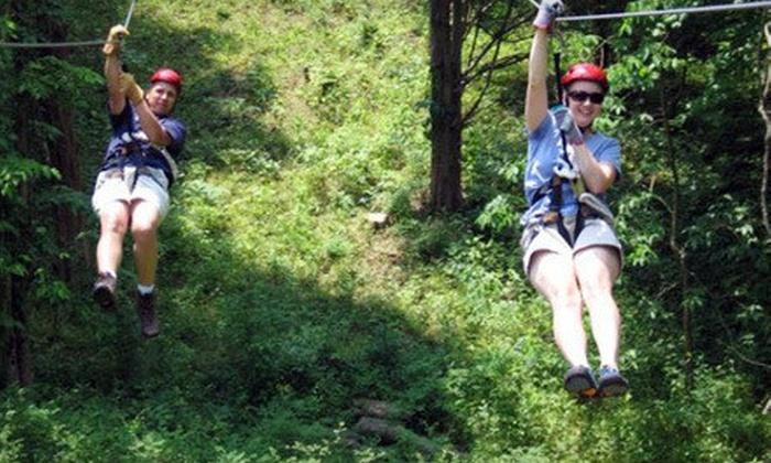Dagaz Acres - Posey: $40 for a Guided Zipline Tour at Dagaz Acres in Rising Sun ($70 Value)