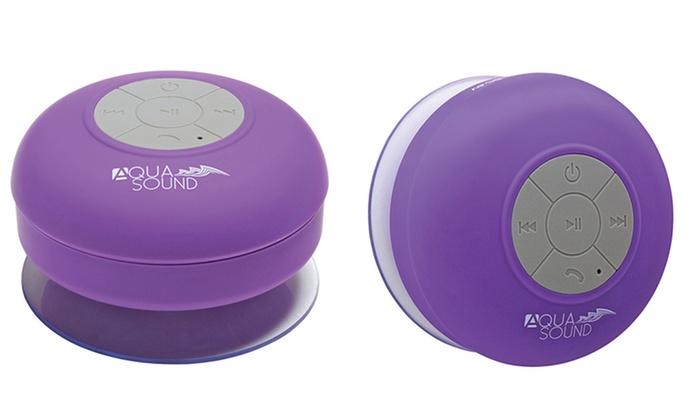Up To 89 Off On Aduro Aqua Sound Shower Speaker Groupon Goods