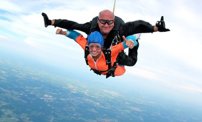 image for One Tandem <strong>Skydiving</strong> Jump at Skydive Cleveland (50% Off)