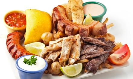 Two Groupons, Each Good for $15 Worth of Latin American Food at The Munchies Grill ($30 Total Value)