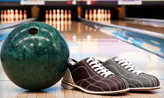 Bowling Depot - Northeast Calgary: One or Two Hours of Bowling with Shoe Rental for Four People at Bowling Depot (Up to 55% Off)