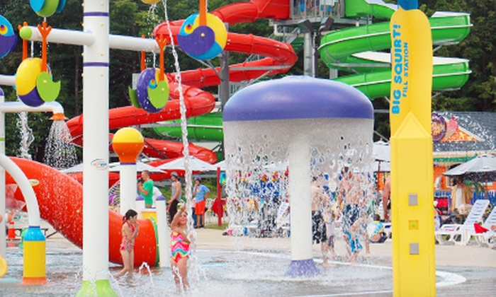 Liquid Planet Water Park - Candia: $18 a One-Day Water-Park Visit with a Zipline Ride and Mini Golf at Liquid Planet Water Park (Up to $39 Value)