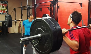 CrossFit 4 Time: One Month of Unlimited Classes or 10 CrossFit Classes and Three Training Sessions at CrossFit 4 Time (88% Off)
