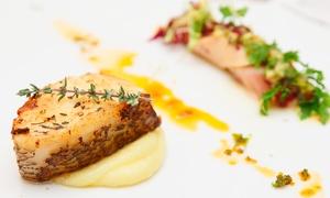 L'auberge Saint Martin: Gastronomisch 6-gangen menu voor 2, 4 of 6 personen bij Auberge Saint Martin
