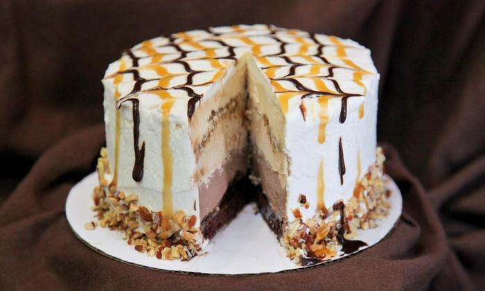 Peaks Frozen Yogurt Bar - Multiple Locations: $17 for One Frozen YogurtIce-Cream Cake at Peaks Frozen Yogurt Bar ($32 Value)