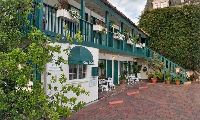 Monte Verde Inn and Casa de Carmel - Carmel-by-the-Sea: 1 or 2 Nights with Optional Dining Credit and Wine-Tasting Passes at Monte Verde Inn and Casa de Carmel in Carmel, CA