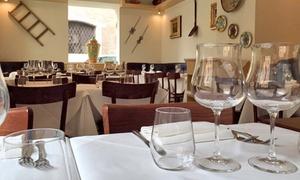 Osteria Rinascimento Roma: Menu con 1 kg di fiorentina, antipasto, dolce e bottiglia di vino all'Osteria Rinascimento