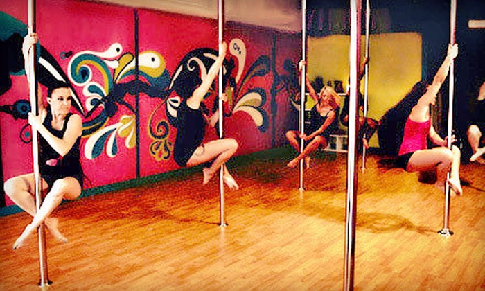 Studio Goddess - Nashville: Two or Four Pole-Dancing or Flirty-Fitness Classes at Studio Goddess (Up to 58% Off)