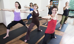 Crossroads Yoga: 5, 10, or 20 Classes at Crossroads Yoga (Up to 57% Off)