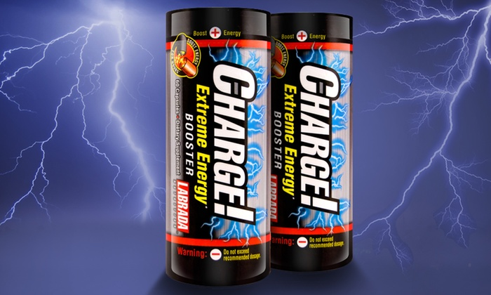 Labrada Nutrition Charge! Extreme Energy Booster: 2-Pack of 60-Count Labrada Nutrition Charge! Extreme Energy Booster. Free Shipping.
