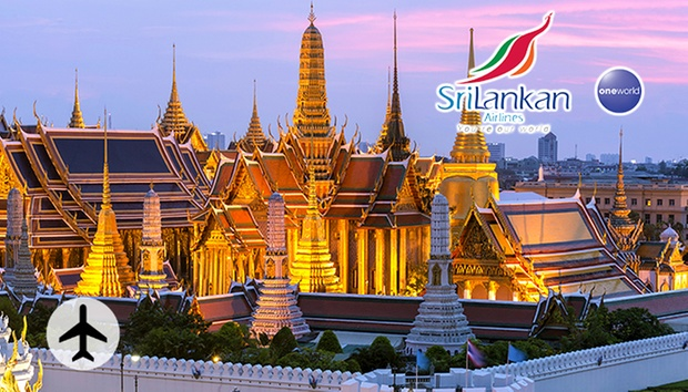 Last minute offer:Bangkok Roundtrip Air Ticket on SriLankan Airlines 0