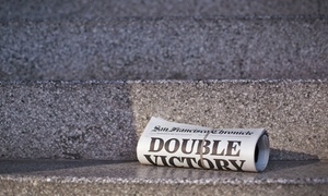 $49 For 52 Weeks Of Sunday Print Delivery Plus Unlimited Digital Access To The San Francisco Chronicle ($265.20 Value)