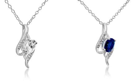 1 of 2 hangers van het merk Passion Jewellery versierd met 1,5karaats synthetische saffier vanaf € 14,99
