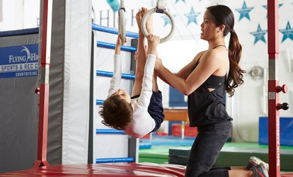 image for Sessions and <strong>Gymnastics</strong> Classes at Flying High Sports and Rec Center (Up to 66% Off)