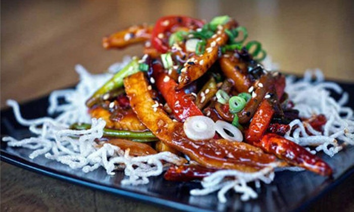 StreetFood Asia - Nob Hill: Asian Fusion Cuisine and Drinks at StreetFood Asia (Up to 55% Off). Two Options Available.