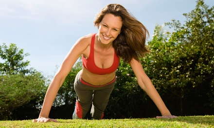 10 Outdoor Fitness Classes, or One Month or Six Weeks of Unlimited Outdoor Fitness Classes (Up to 83% Off)